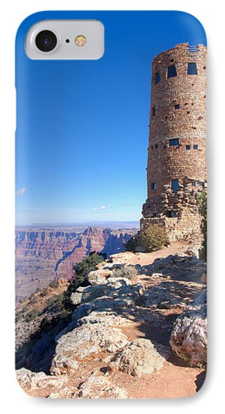 IPhone Case featuring the photograph The Watchtower by John M Bailey