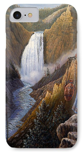 The Water Carrier Yellowstone IPhone Case by Gregory Perillo