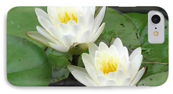 IPhone Case featuring the photograph The Water Lilies Collection - 08 by Pamela Critchlow