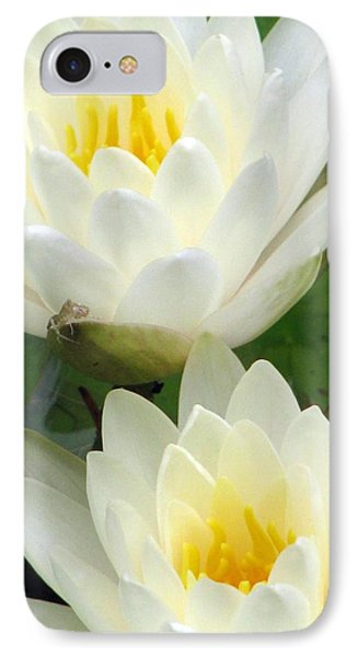 IPhone Case featuring the photograph The Water Lilies Collection - 09 by Pamela Critchlow