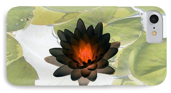 IPhone Case featuring the photograph The Water Lilies Collection - Photopower 1034 by Pamela Critchlow