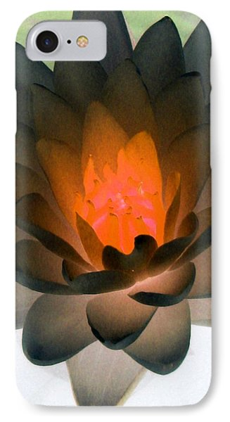 IPhone Case featuring the photograph The Water Lilies Collection - Photopower 1036 by Pamela Critchlow