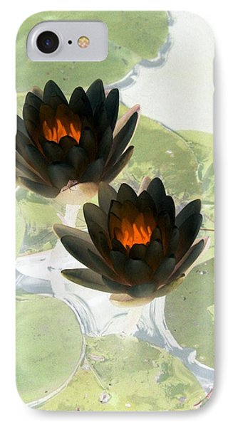 IPhone Case featuring the photograph The Water Lilies Collection - Photopower 1040 by Pamela Critchlow