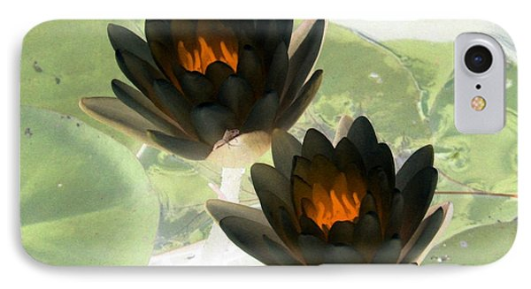 IPhone Case featuring the photograph The Water Lilies Collection - Photopower 1041 by Pamela Critchlow