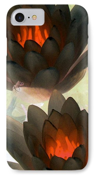 IPhone Case featuring the photograph The Water Lilies Collection - Photopower 1042 by Pamela Critchlow