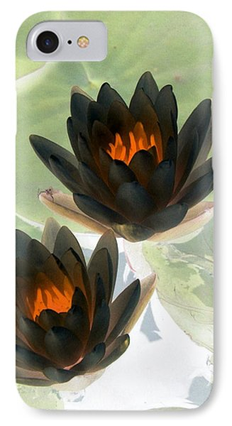IPhone Case featuring the photograph The Water Lilies Collection - Photopower 1046 by Pamela Critchlow