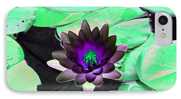 IPhone Case featuring the photograph The Water Lilies Collection - Photopower 1113 by Pamela Critchlow