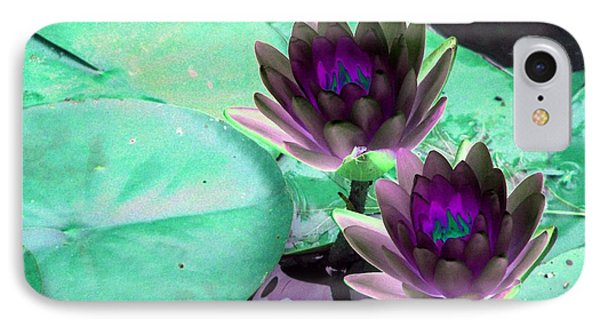 IPhone Case featuring the photograph The Water Lilies Collection - Photopower 1118 by Pamela Critchlow
