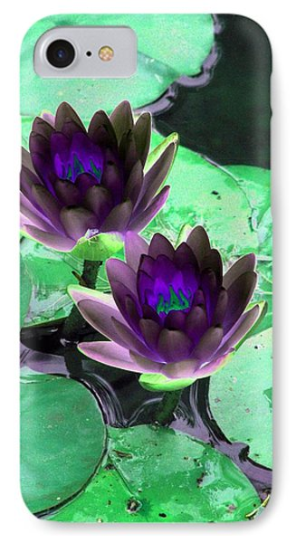 IPhone Case featuring the photograph The Water Lilies Collection - Photopower 1119 by Pamela Critchlow