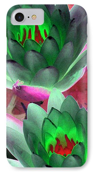 IPhone Case featuring the photograph The Water Lilies Collection - Photopower 1121 by Pamela Critchlow