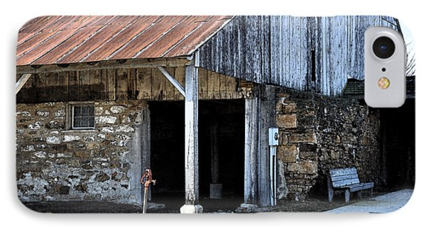The Water Pump IPhone Case by Kirt Tisdale
