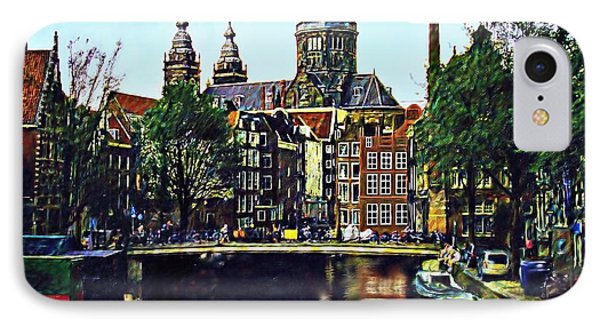 The Water Way Amsterdam Phone Case by Dmt
