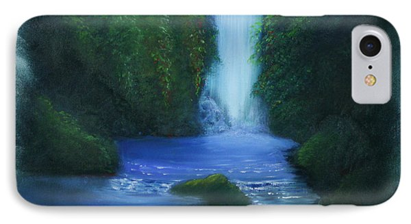 The Waterfall Phone Case by David Kacey