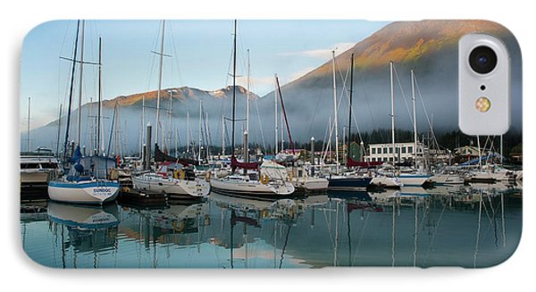 The Waterfront Of Seward, Alaska IPhone Case by Dan Bailey
