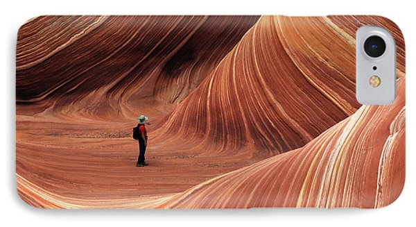 The Wave Seeking Enlightenment Phone Case by Bob Christopher
