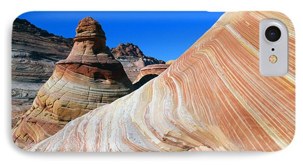 IPhone Case featuring the photograph 'the Wave' North Coyote Buttes 10 by Jeff Brunton