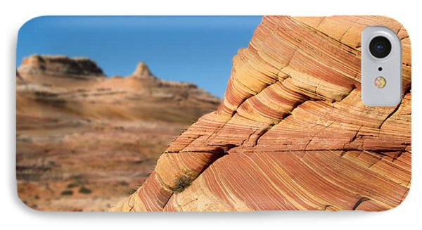 IPhone Case featuring the photograph 'the Wave' North Coyote Buttes 13 by Jeff Brunton