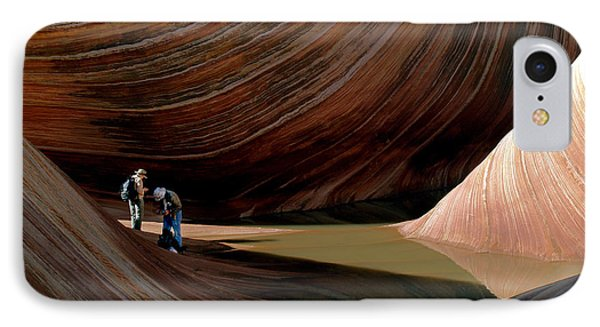 IPhone Case featuring the photograph 'the Wave' North Coyote Buttes 44 by Jeff Brunton