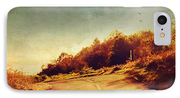 The Way Down. Trossachs National Park. Scotland Phone Case by Jenny Rainbow