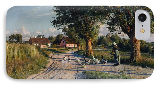 The Way Home IPhone Case by Peder Monsted