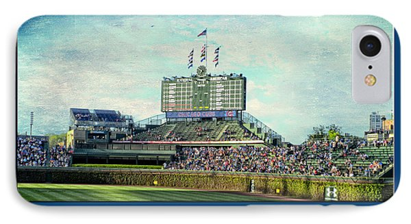 The Way It Was Chicago Cubs Scoreboard Textured IPhone Case
