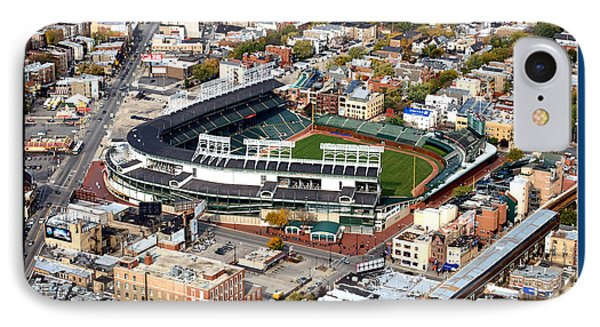 The Way It Was Chicago Cubs Wrigley Field 03 IPhone Case by Thomas Woolworth