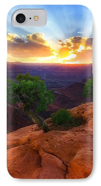 IPhone Case featuring the photograph The Way Of Life by Kadek Susanto