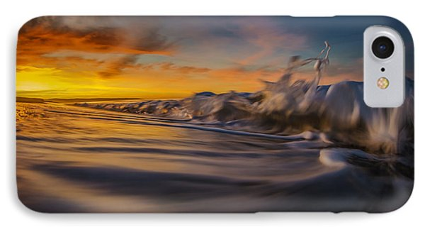 IPhone Case featuring the photograph The Way Of The Wave by Sean Foster