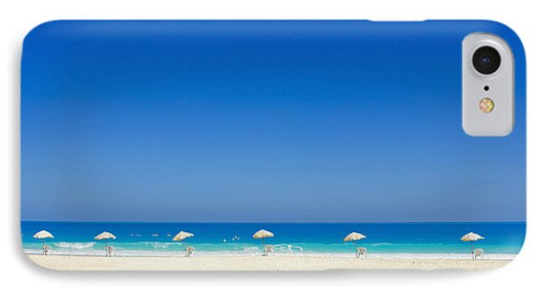 The Way To The Beach IPhone Case by Mohamed Elkhamisy