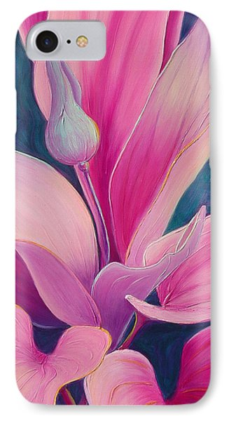 IPhone Case featuring the painting The Way You Look Tonight by Sandi Whetzel