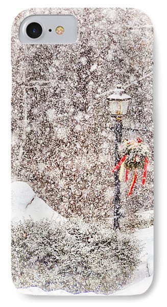 The Weather Outside Is Frightful IPhone Case by Tricia Marchlik
