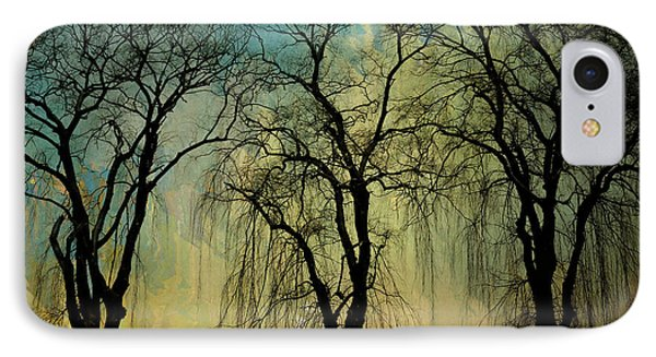The Weeping Trees IPhone Case by Bedros Awak