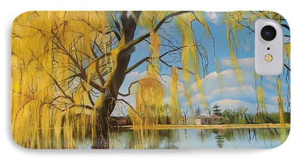 The Weeping Willow IPhone Case by Antonia Posey
