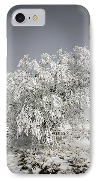 The Weight Of Winter Phone Case by John Haldane