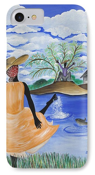 The Welcome River Phone Case by Patricia Sabree