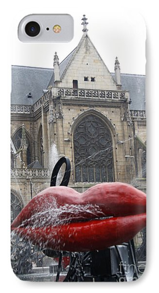 The Wet Kiss IPhone Case