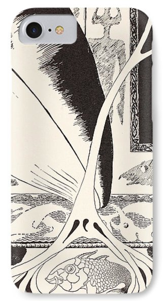 The Whale Looking For The 'stute Fish Phone Case by Joseph Rudyard Kipling