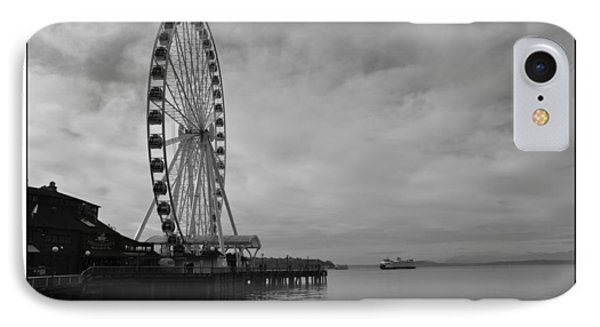 The Wheel And The Ferry IPhone Case by Kirt Tisdale