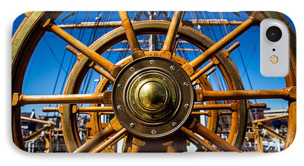 The Wheel IPhone Case by Karol Livote