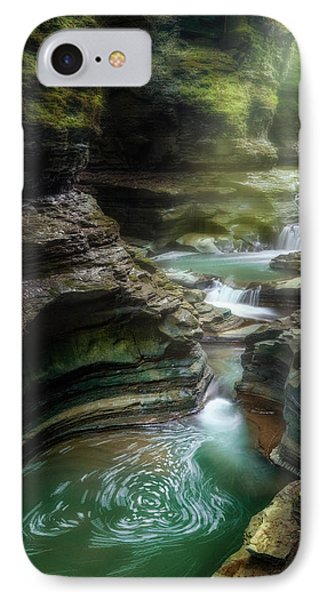 The Whirlpool IPhone Case by Bill Wakeley