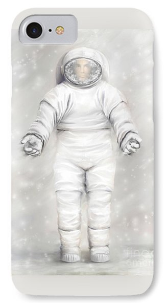 The White Astronaut Phone Case by Tharsis Artworks