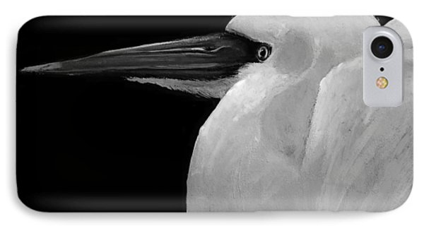 The White Bird IPhone Case by Jean Cormier