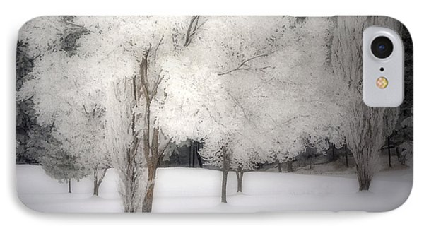 The White Dreams Of Winter IPhone Case by Tara Turner