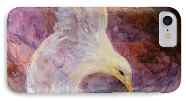 The White Eagle Phone Case by Shoshana Donaya