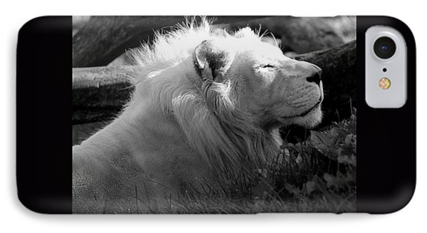 The White King IPhone Case by Marcia Lee Jones