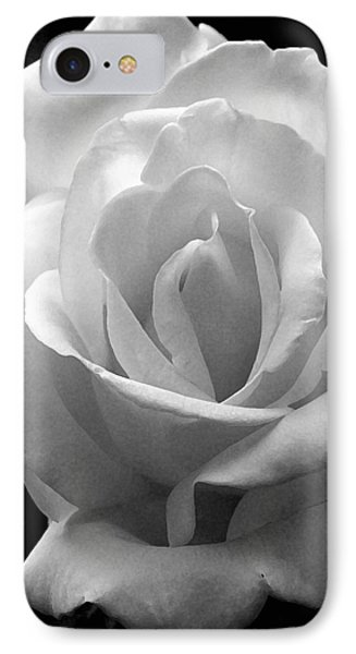 IPhone Case featuring the photograph The White Rose by James C Thomas
