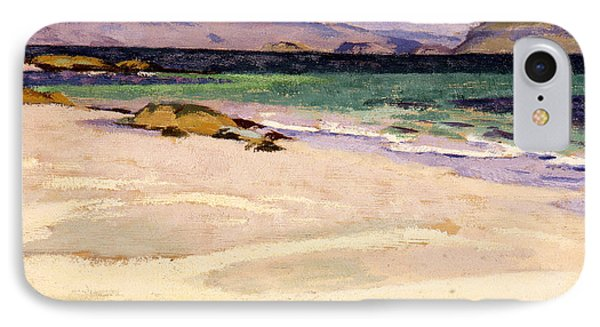 The White Strand  Iona IPhone Case by Francis Campbell Boileau Cadell