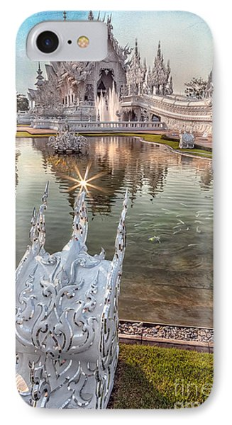 The White Temple IPhone Case by Adrian Evans