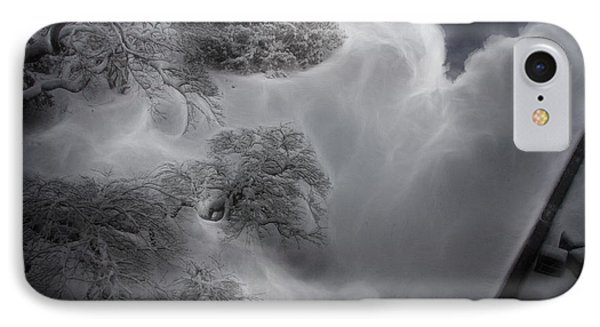 IPhone Case featuring the digital art The White Tree by Bruce Rolff