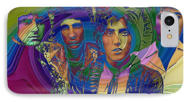The Who Color Warp IPhone Case by Dan Sproul